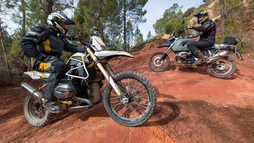 TOURATECH RAMBLER vs BMW HP2