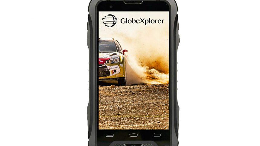 smartphone globe