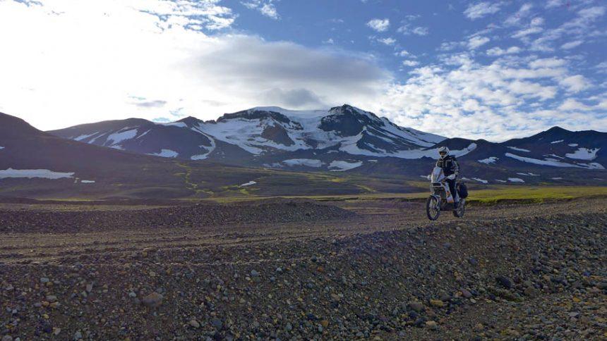 Islande en KTM