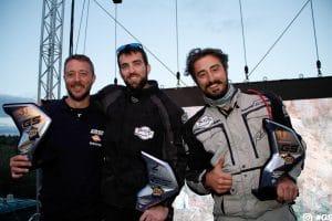 De gauche à droite, sur la photo de l'article, Olivier Fayat / Jérôme Durand / Paul Basseville