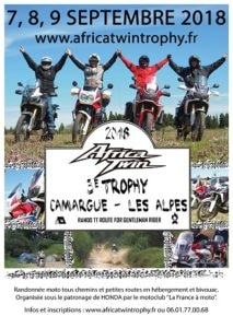 Africa Twin Trophy 2018