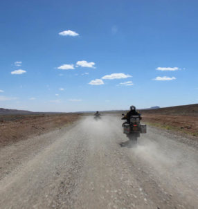 Nouveau raid moto Nomadic Riders