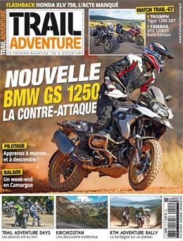 Trail Adventure n°15 actuellement en kiosque