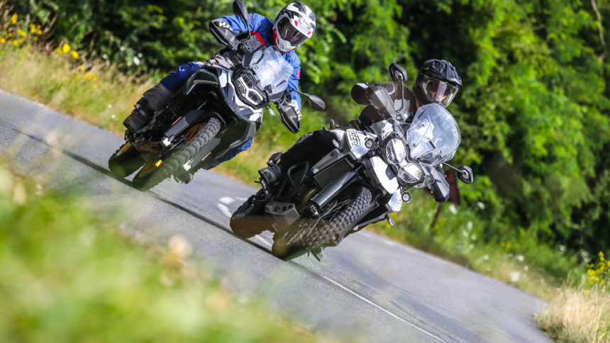 BMW F 850 GS vs Triumph 800 Tiger XCa