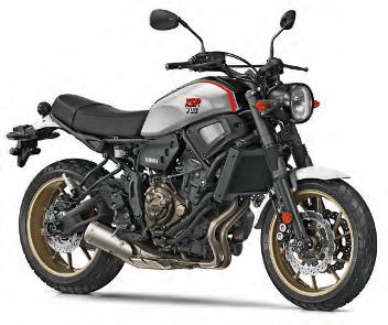 Yamaha XSR900 X-Tribute